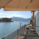 Ausblick aus dem Hafen