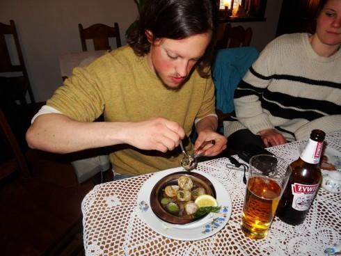 Local food? Restaurant visit in Hel. Photo: Dransmann
