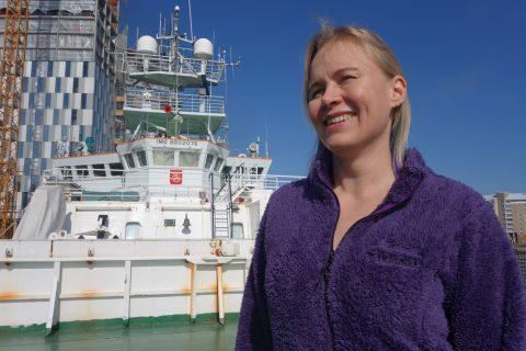 being a female scientist marine biologist and computer scientist
