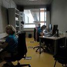 Im ersten Stock befinden sich außerdem Büros für Wissenschaftlerinnen und Wissenschaftler / Scientists offices are also located on the first floor. Photo: Jan Steffen/GEOMAR