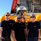 Das Team des bemannten Tauchbootes JAGO / The Team of the manned submersible JAGO. Photo: Karen Hissmann /JAGO - Team