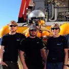 Das Team des bemannten Tauchbootes JAGO / The Team of the manned submersible JAGO. Photo: Karen Hissmann /JAGO - Team