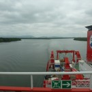 On the way to the river mouth of the Rio Guayas. Photo: Evangelos Alevizos