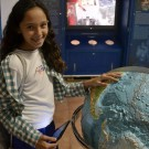 Mädchen in der Ausstellung Future Ocean Dialogue, Foto: Future Ocean