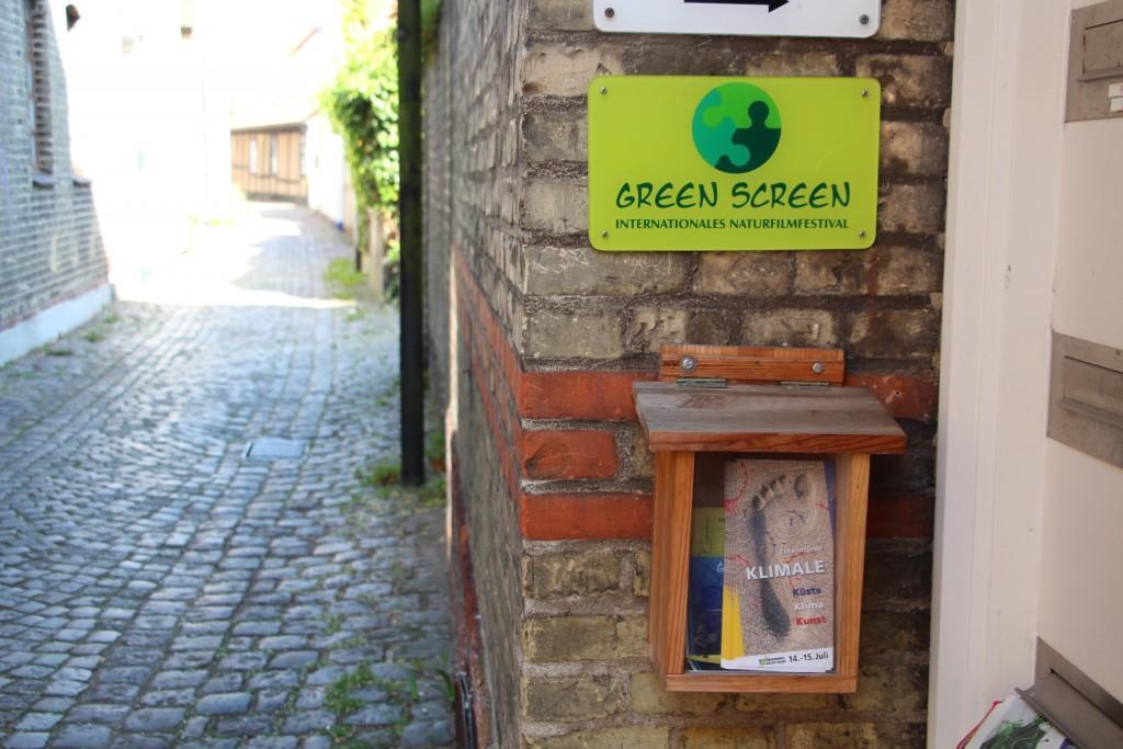 KLIMALE meets Green-Screen; Foto: C.Koch