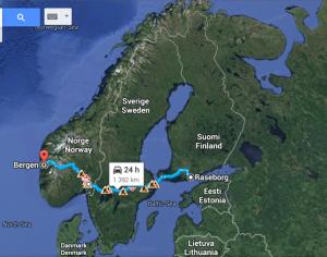 Road  map- Google Maps