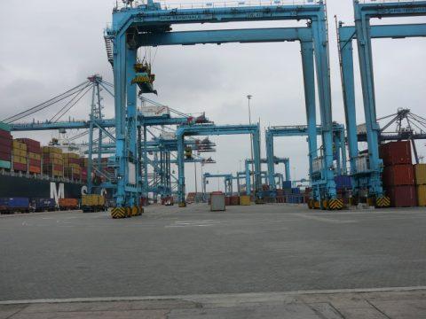 Der Hafen von Callao. Foto: Hermann Bange
