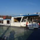 Das Forschungsschiff ALBIS. Foto: Yasmin Appelhans