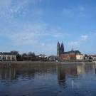 Magdeburg von Bord der ALBIS. Foto: Yasmin Appelhans