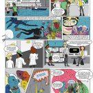 Meta und das Geheimnis der Schwämme. Illustration: Susanne Landis, Scienstration