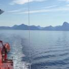 Abreise von Nuuk, Grönland