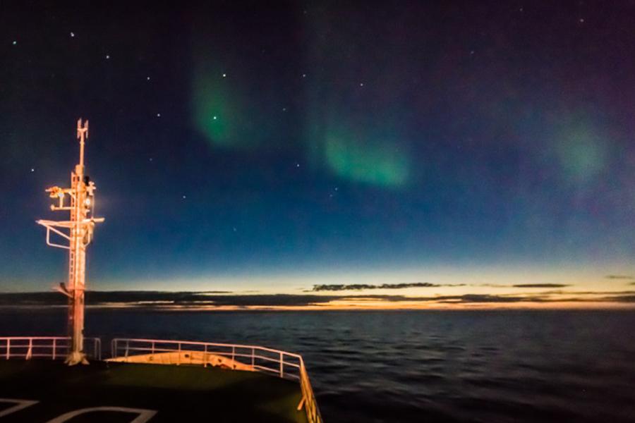 Aurora borealis, Foto: Felix Groß