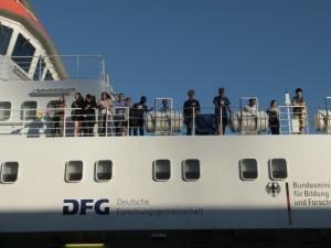 Crew on board