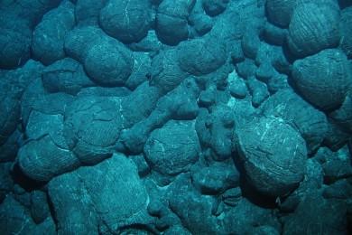 Kissenlava am Mittelatlantischen Rücken im Südatlantik. (Foto: ROV KIEL 6000, GEOMAR)