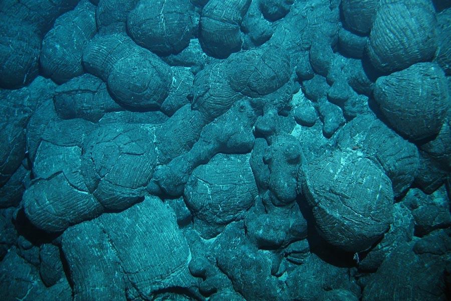 Pillow lava  Pacific Marine Environmental Laboratory