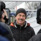 Dr. Martin Wahl im Interview bei Minusgraden. Foto: Maike Nicolai, GEOMAR