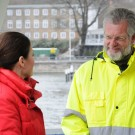 GEOMAR-Direktor Prof. Peter Herzig im Interview. Foto: Maike Nicolai, GEOMAR