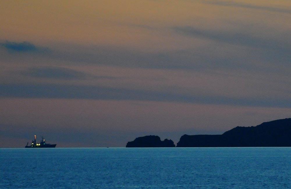 Poseidon vor Panarea. Foto: Frank Behling