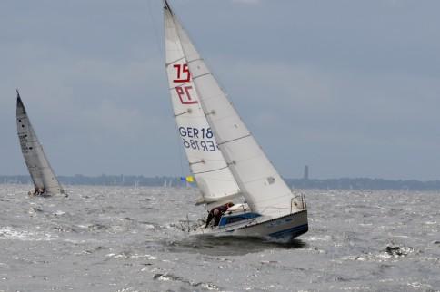 Für die Segelwettbewerbe der Kieler Woche ist viel Wind ideal. Foto: J. Steffen, GEOMAR