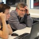 Selbst Projektleiter Joachim kommt dabei manchmal ins Grübeln. Foto: B. König, GEOMAR