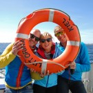 """""""Rosanna checkt's"""" - Wie arbeitet ein Meeresforscher? Foto: Maike Nicolai, GEOMAR"""