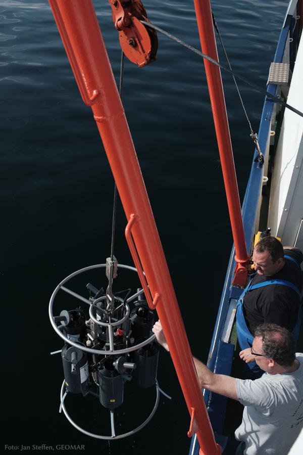 Kranzwasserschöpfer mit CDT-Sonde
