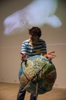 Uli Kunz erzählt von seinen vielen Unterwasserabenteuern rund um den Globus, auf dem es noch so viel Unentdecktes gibt. Foto: Jolan Kieschke