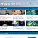 Neue Übersicht Startseite oceanblogs. Hier kann man sich entlang 6 neuer Themen orientieren.