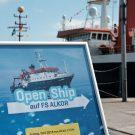 Hier geht's lang: Open Ship auf der FS ALKOR. Photo: Jan Steffen / GEOMAR
