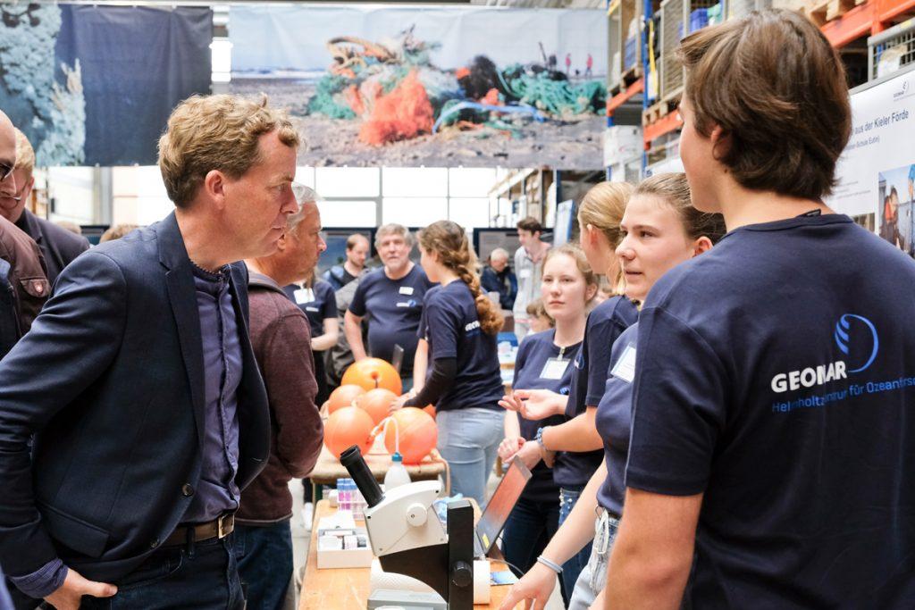 Der kieler Oberbürgermeister Dr. Ulf Kämpfer. Foto: Jan Steffen/GEOMAR