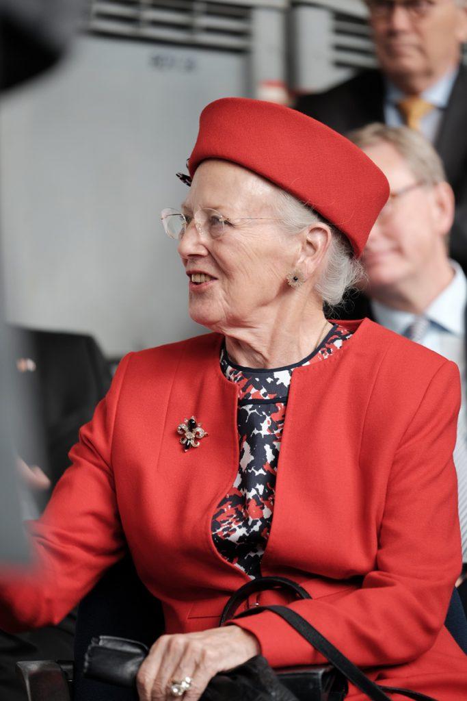 Königin Margrethe II. von Dänemark Foto: Nikolas Linke/GEOMAR