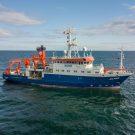 FS ALKOR in der Ostsee während AL536/RV ALKOR in the Baltic Sea during AL536. Photo: Marc Petrikowski