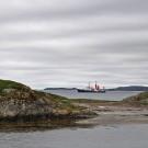 POSEIDON seen from our jetty. Photo: Maike Nicolai