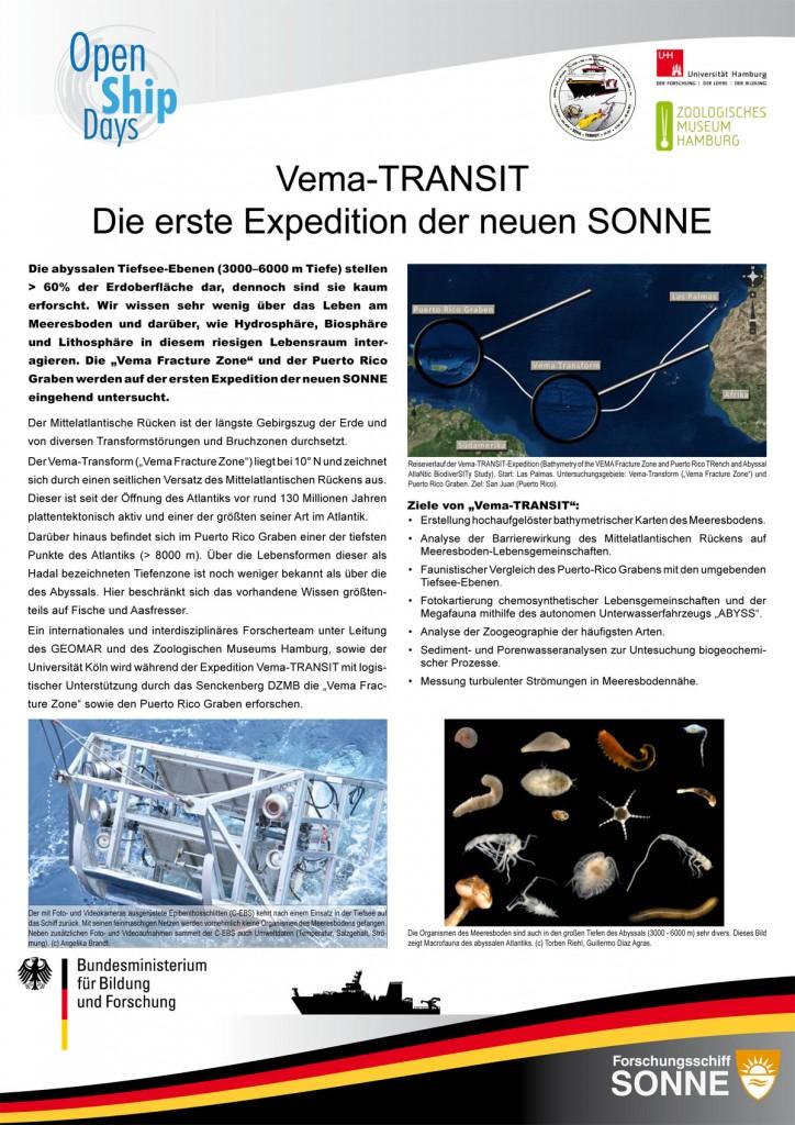 Vema TRANSIT Poster. Gestaltung: Torben Riehl