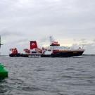 Die Höchstgeschwindigkeit der SONNE kliegt bei 15 kn, die Reisegeschwindigkeit bei 12 kn. Für die Wissenschaft viel wichtiger ist die Fähigkeit des Schiffes zur exakten Positionierung. Foto: J. Steffen, GEOMAR
