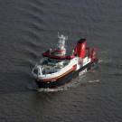 Mit 116 Metern Länge ist die SONNE das größte deutsche Tiefseeforschungsschiff. Foto: Andreas Villwock, GEOMAR