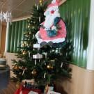 Weihnachtliche Dekoration in der Messe / Christmas decoration in the mess room ©Nikolaus Elsner