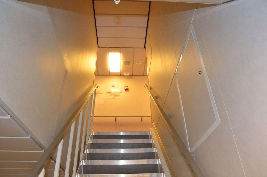 Wie viele Treppen gibt es auf Sonne? Weiß ich nicht - wenn ich anfangen würde sie zu zählen wäre es noch anstrengender...