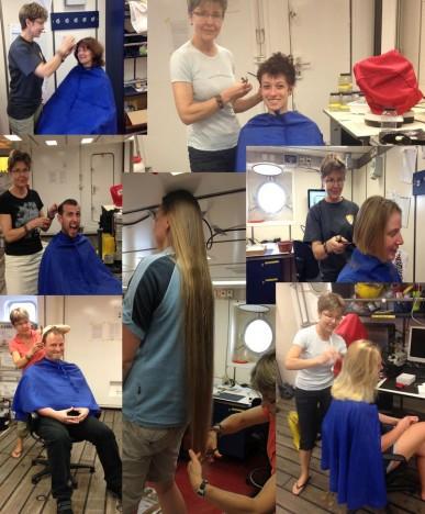 Hair dressing / Haareschneiden. ©Niko Elsner