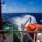 Stormy days in the Indian Ocean. Photo: Matthias Krüger