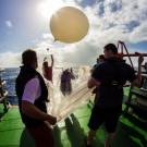Start of the ozone sonde. Photo: Matthias Krüger